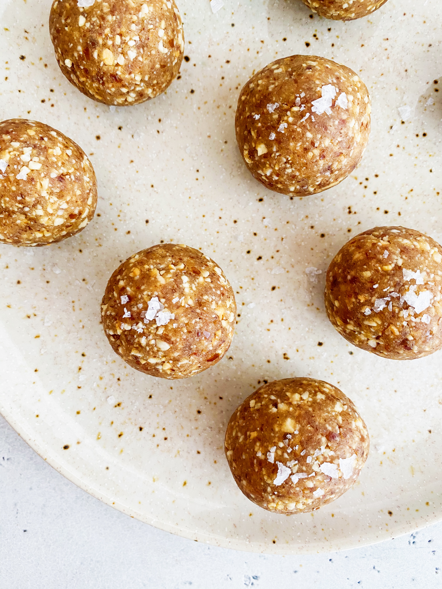 snickerdoodle cookie bliss balls