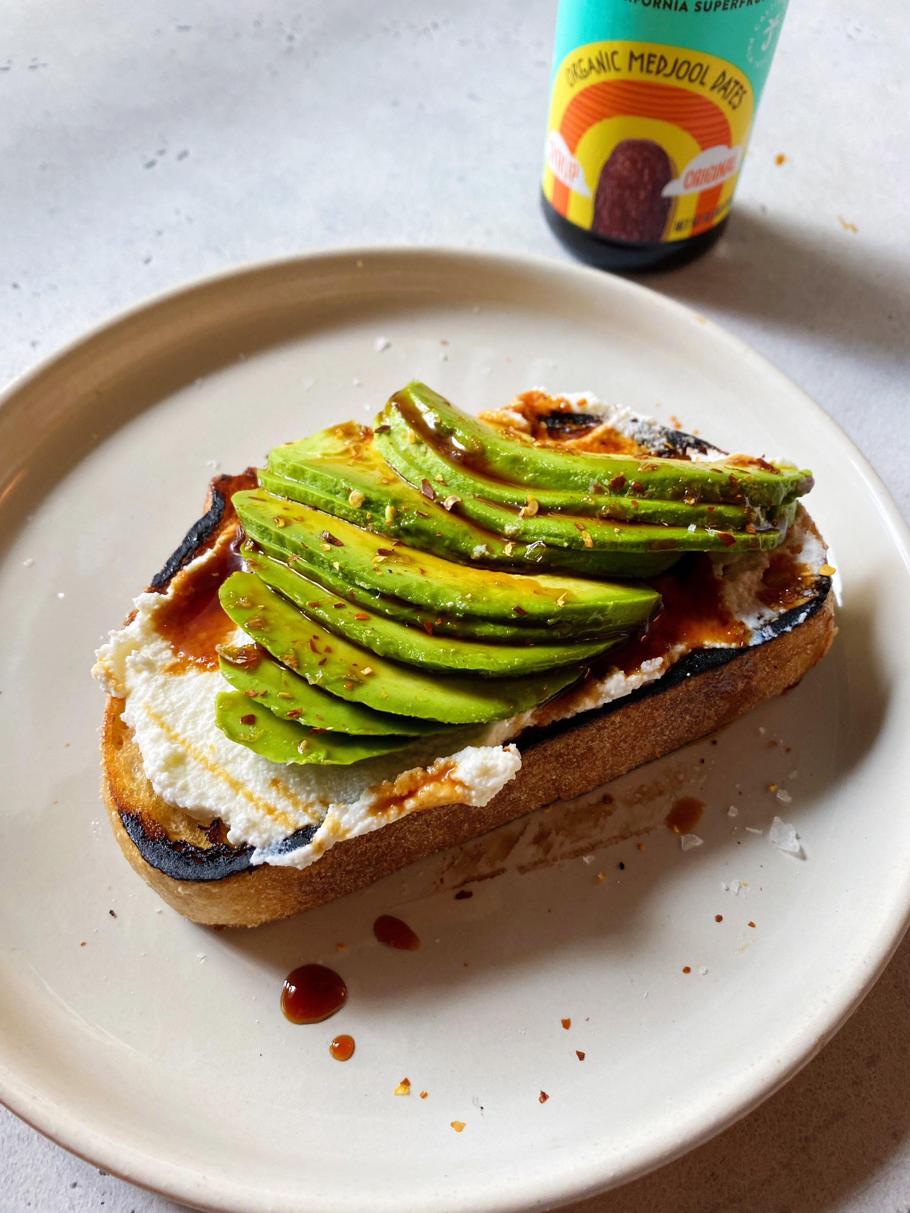 Ricotta Avocado Toast