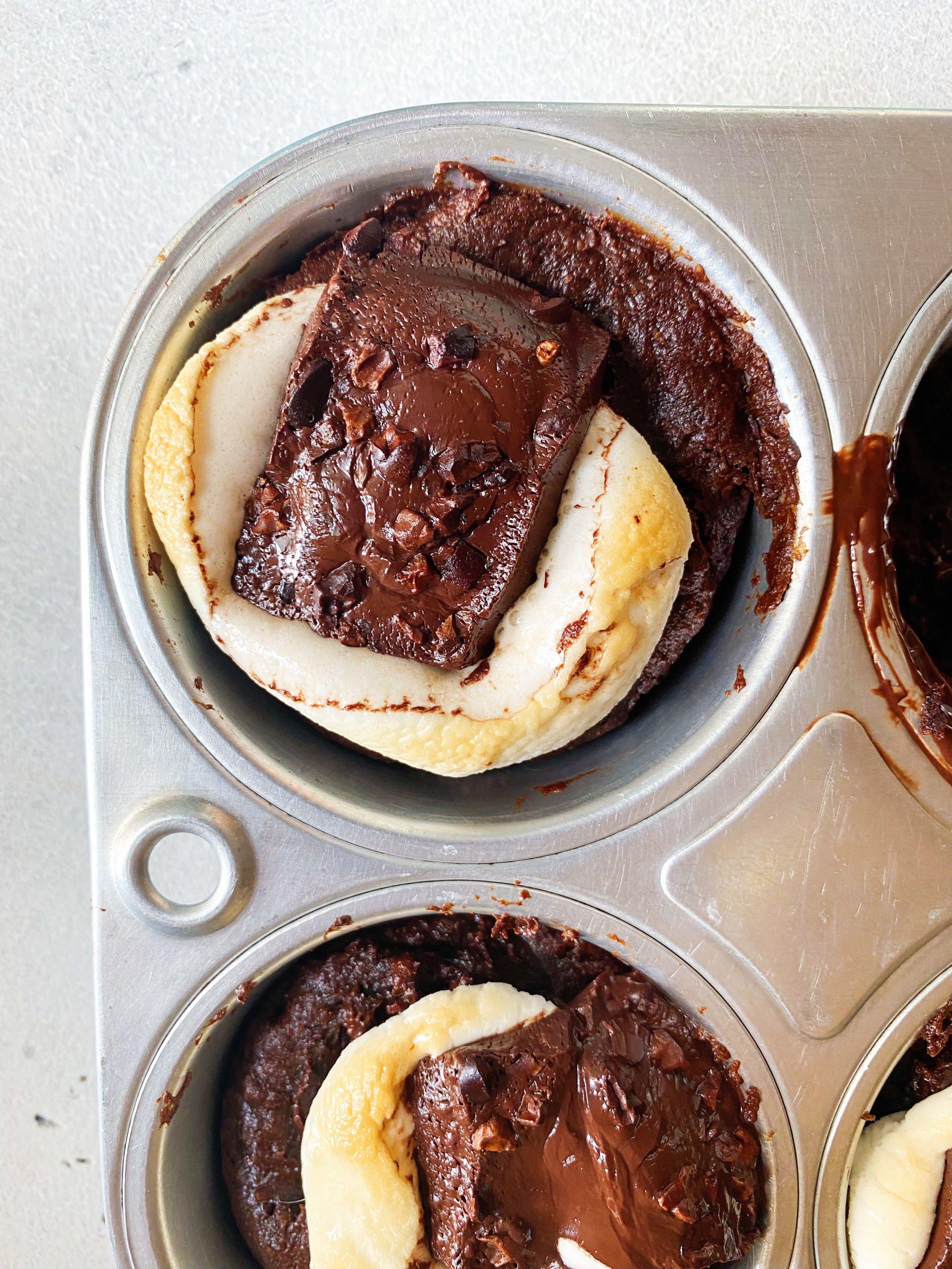 vegan smores brownies