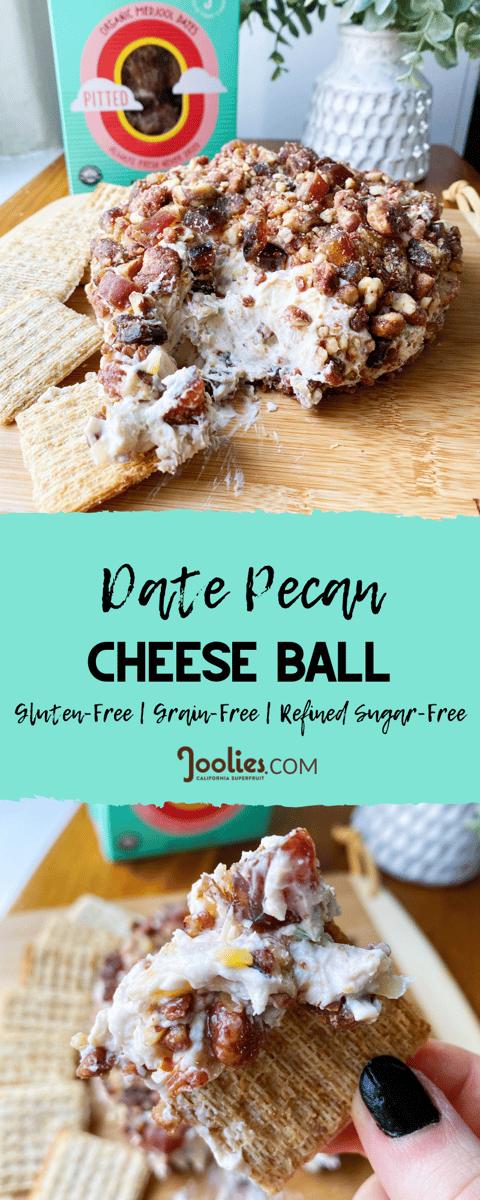 date pecan cheese ball