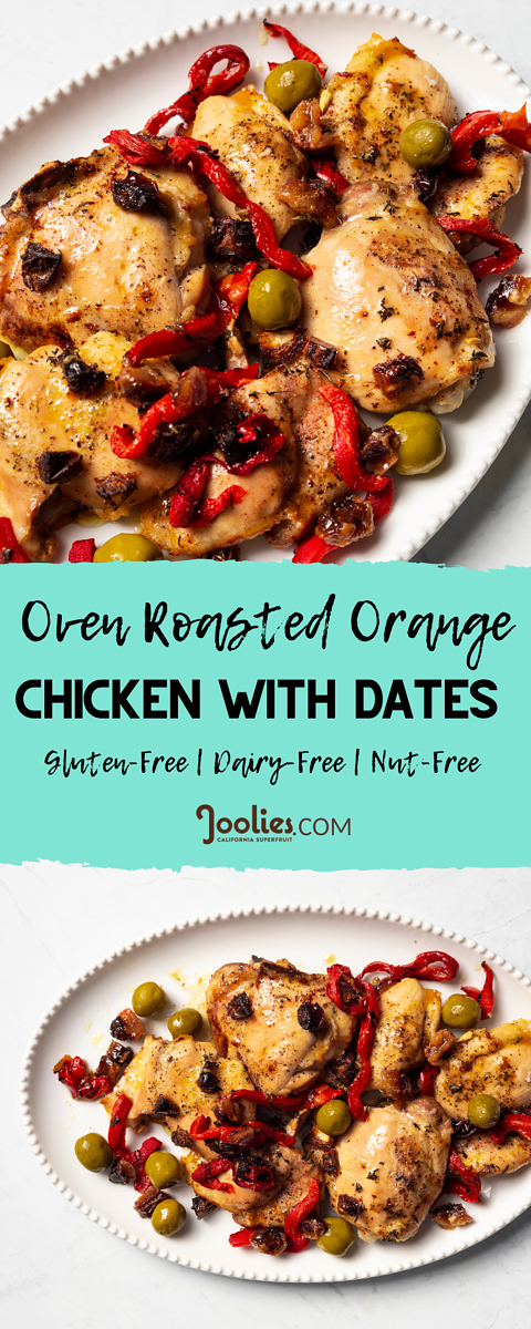 roasted chicken with dates