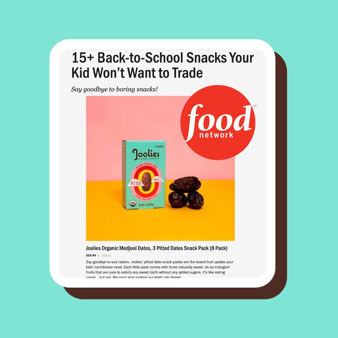 Snacks Your Kid