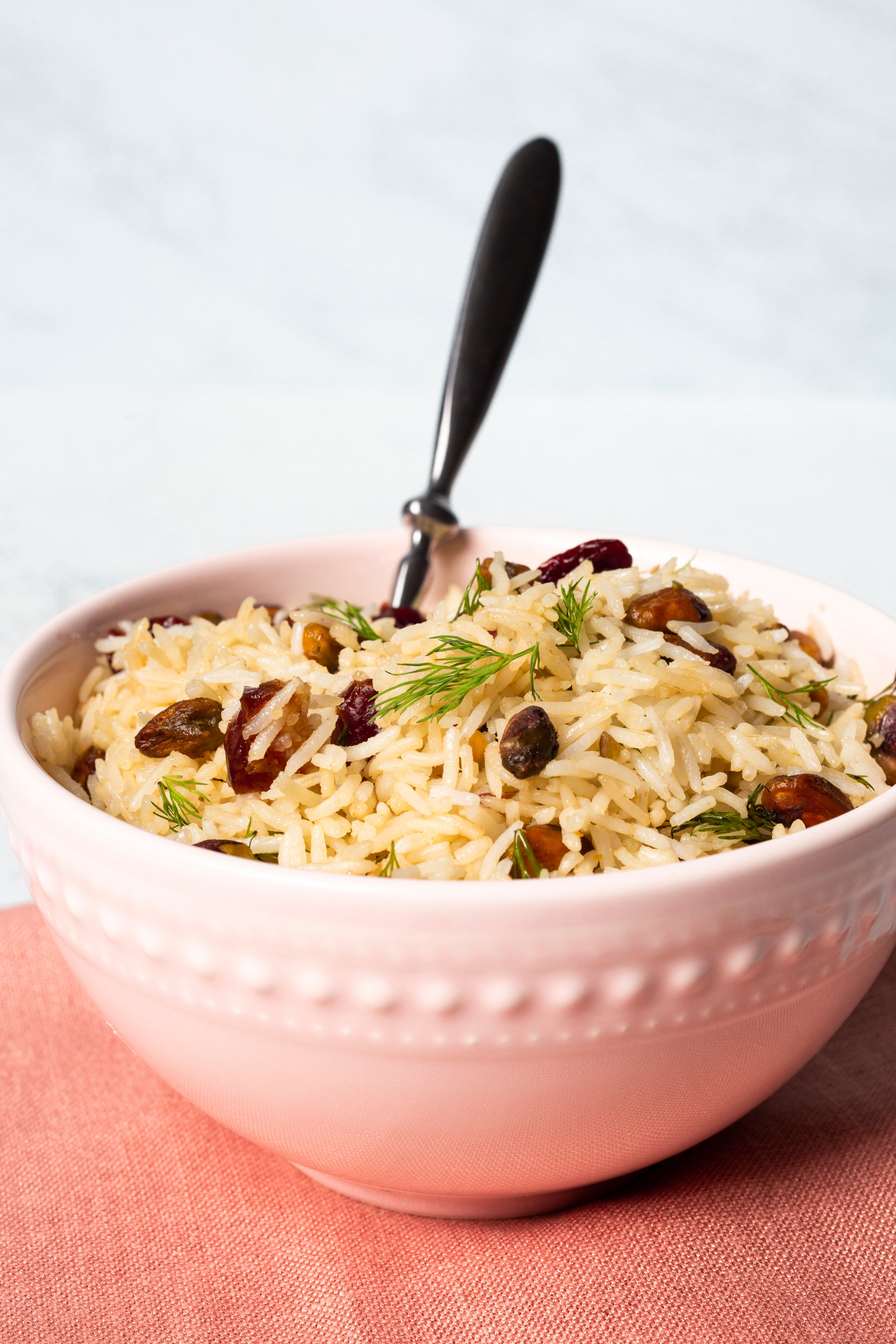 Basmati Rice with Dates, Dill, and Cherries