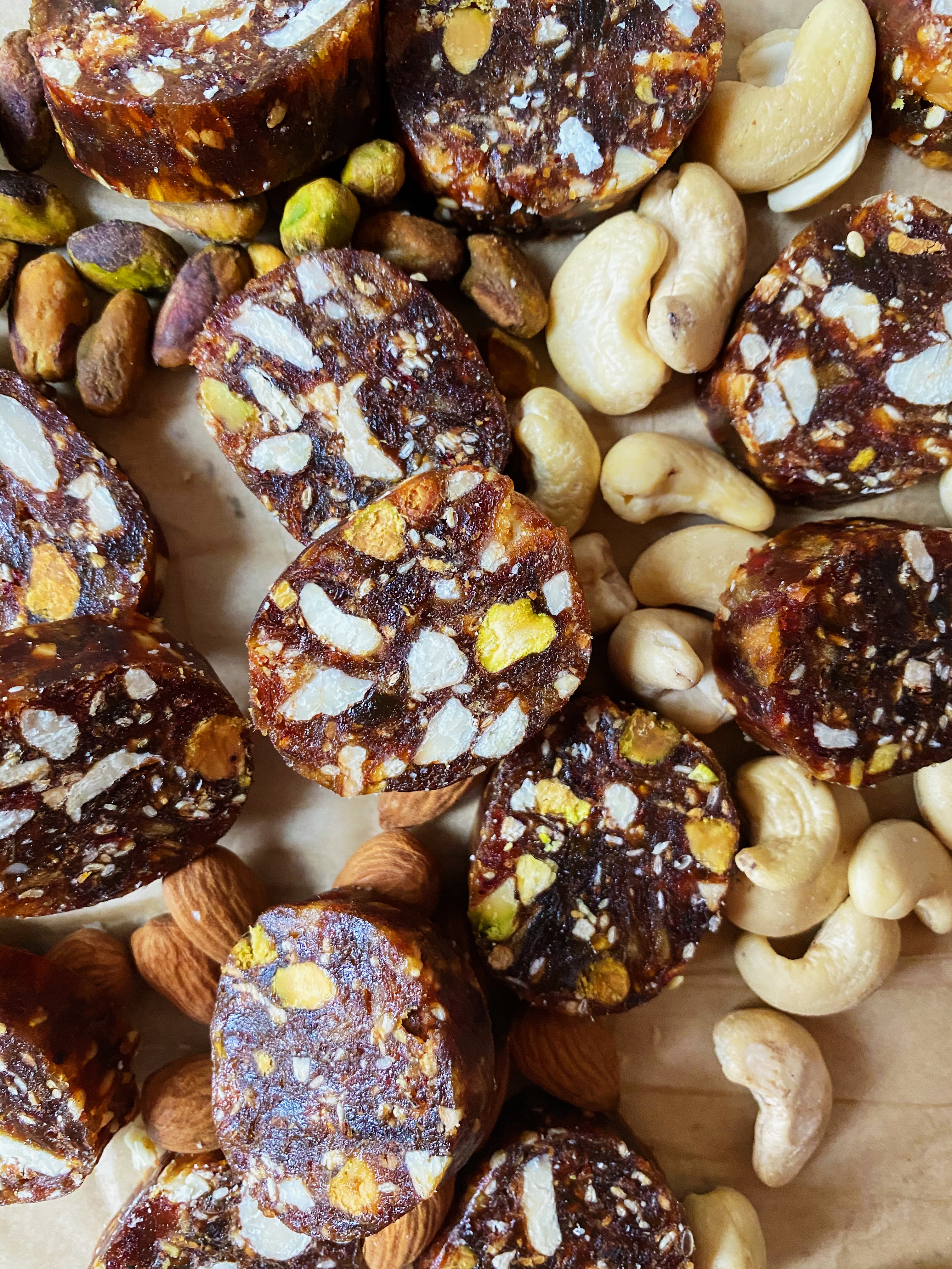 Date and Nut Roll Recipe