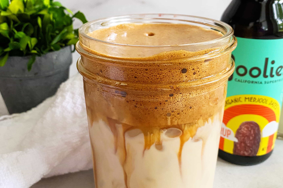 Date-Sweetened Whipped Coffee